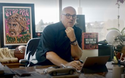 Nike's Chief of Design Doodles All Day
